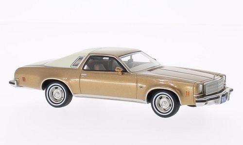 chevrolet-malibu-2-porte-oro-beige-1974-modello-di-automobile-modello-prefabbricato-bos-modelos-143-