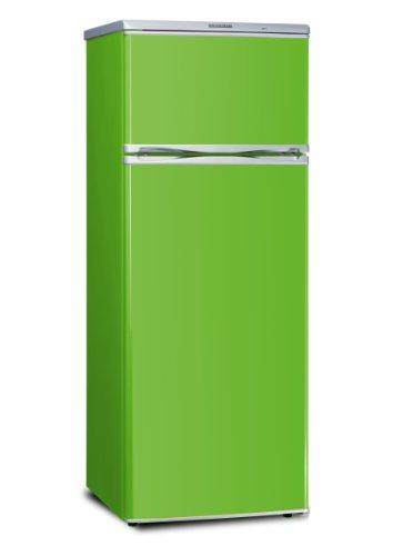 Severin KS 9785 Kühlgefrierkombination / A+ / 208 kWh/Jahr / Kühlen: 166 Liter / Gefrieren: 46 Liter / grün
