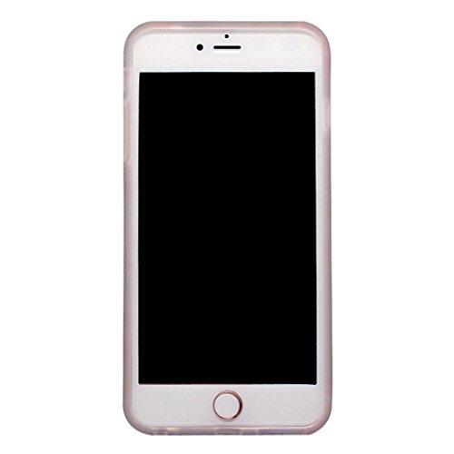 SGSELLER 4.7 iPhone 6 6S TPU Slim Fit Ultra Dünn Stoßfest Anti-Kratz Anti-Fingerabdruck Matt Schutzhülle Gehäuse, Plastik, Marmor (Holz) Greenery