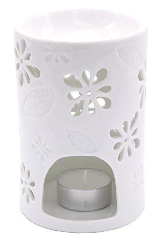 Candle-lite - Teelicht Duftlampe, Nyl, Weiß, 8.5 x 8.5 x 13 cm
