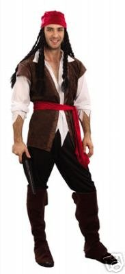 Bottes Pirates - Tenue complète de pirate avec une chemise