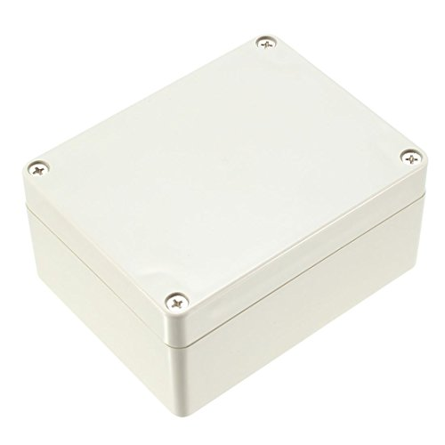 ZCHXD 115x90x55mm Electronic Waterproof IP65 Sealed ABS DIY Junction Box Enclosure Case Gray -