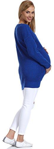 Be Mammy Pull de Maternité Femme Roxy Bleuet