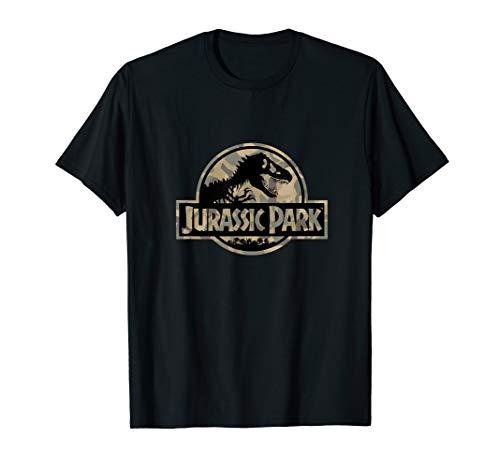 Anvil Camouflage (Jurassic Park Circle Logo Camouflage Classic Logo  T-Shirt)