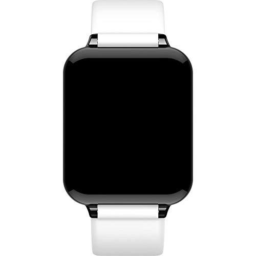 junjunli Bluetooth Uhr Farbdisplay Smart Watch Herzfrequenz Blutdruck Sauerstoff Überwachung Schrittzähler Bewegungserinnerungen Bluetooth Wasserdicht Bluetooth Uhr