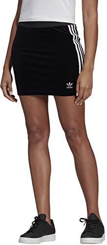 Adidas 3 stripes gonna donna nera dv2628 nero 42