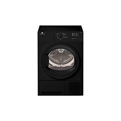 CONTINENTAL EDISON CESLCE7B1 - Seche Linge Frontal - 7 kg - Condensation - Classe B - Noir hublot Verre Noir