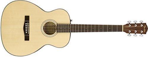Fender ct-60s, naturale, palissandro chitarra acustica da viaggio