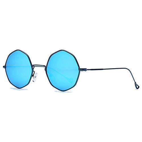 Thirteen Runde Retro-Sonnenbrille Weibliche Anti-UV-Brille, Kann Verwendet Werden, Um Fahrreisen, Geeignet Für Eine Vielzahl Von Gesichtstypen Zu Schmücken. (Color : D)