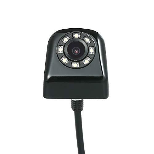 Wencaimd Autokamera wasserdichte Rückfahrkamera mit 8 LED-Nachtsicht-Einparkhilfe zum Fahrer Reparaturwerk Handwerker Autos