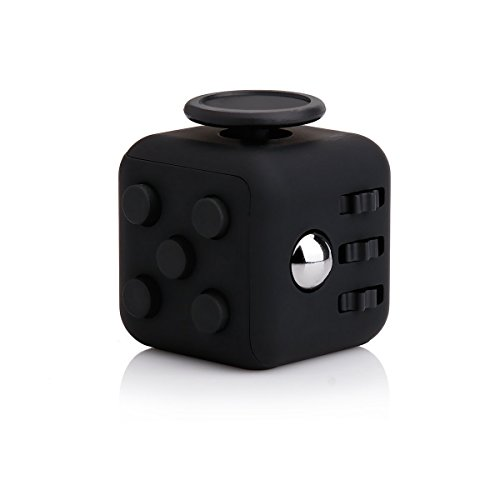 DIDA Fidget Cube Con Morbido Testurizzati In Gomma Per Esterni Giocattolo Da Scrivania Per Alleviare Stress E Ansia Giocando In Mani