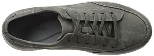 Dansko Mens Vaughn Fashion Sneaker Grey Milled Nubuck
