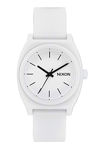 Nixon A1215–126Medium tempo Teller P orologio da donna in poliuretano bianco