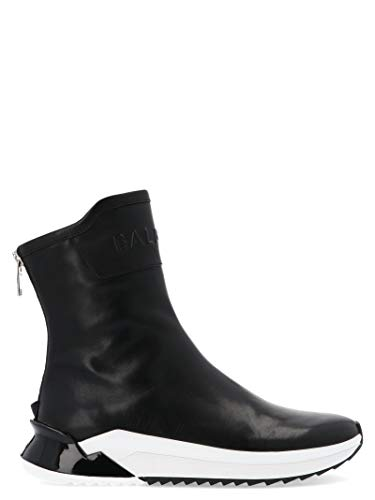 Balmain Luxury Fashion Herren SM0C170L0010PA Schwarz Stiefeletten | Herbst Winter 19