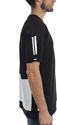 Crooks & Castles Herren T-Shirt Schwarz
