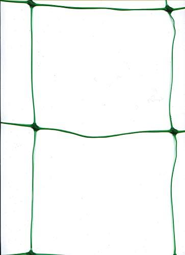 Life987 Gemüse und Obst, Unterstützung für Kletterpflanzen, Rebe und Veggie Spalier Net, Klettern Netz Klettern Bean Pflanze Netze Wachsen Zaun 1,7m x 4m Grün 10cm Löcher