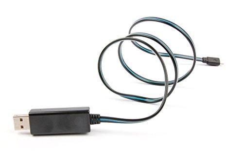 Preisvergleich Produktbild Laden und Übertragen: LED leuchtendes Sync- und Ladekabel für Panasonic Lumix DC-LX100 II Kameras