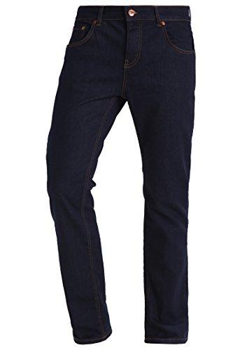 Preisvergleich Produktbild YOURTURN Herren Jeans Hose Denim in Blau ausgespühlt - Jeanshosen Straight Leg mit Baumwolle & Stretch, 36x34