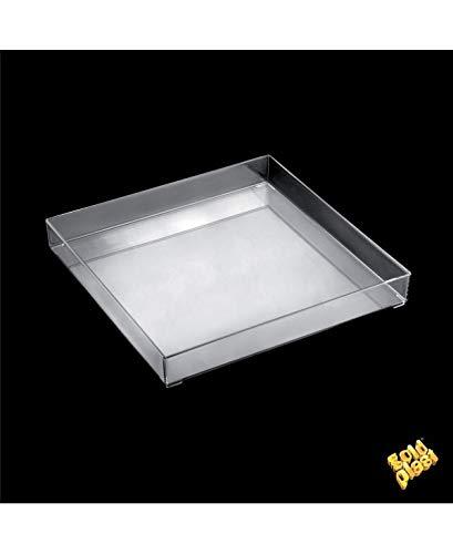 Gold Plast-1 plateau Fashion par paquet 300x300 mm transparent