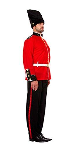 Guard Kostüm British - Herren kolpak (husarenmütze) Royal Guard Fancy Kleid Traditionelle British Soldier Party Kostüm