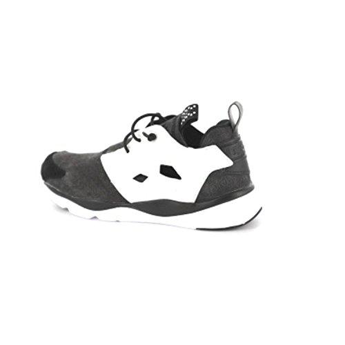 Reebok Furylite Asymmetrical Chaussures de running Femme Negro / Blanco (Black / White)