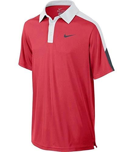 Nike - Nike Kinder Polohemd Rot 100% Polyester 642071 - Parallele ATA 80GB Drive @ 4200 rpm, Rot -