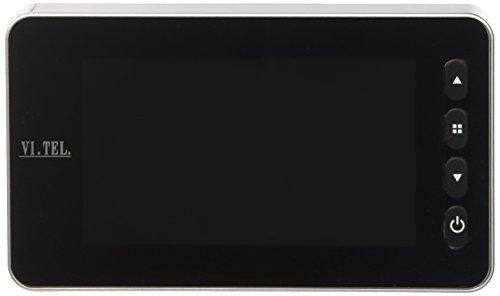 TELESE E0393-12 Digitaler Türspion Silber