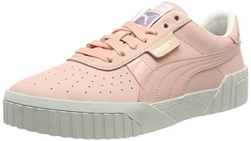 Puma Damen Cali Nubuck WN's Sneaker, Rosa (Peach Bud-Peach Bud 01), 37 EU (Zapatos Puma)