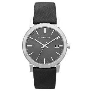 Burberry BU9024 – Wristwatch Unisex Nylon Strap – Black