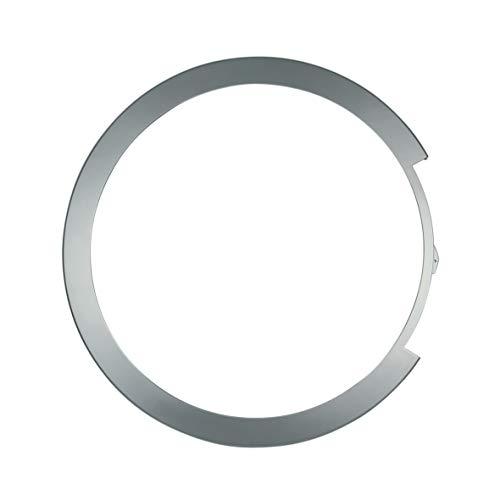 Türring außen Ring Bullauge silber Kunststoff Waschmaschine Frontlader ORIGINAL Bosch Siemens 00673907 673907 passend Logixx Avantixx wvh28 wlm24 was24 was20 wlm20 wvh30 ws10 wd15 wd14 wd12 wd13 ws12