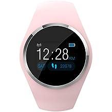 JIADIAN Q1 Reloj Inteligente Reloj Bluetooth para Mujer con Monitor de sueño Monitor de Ritmo cardíaco