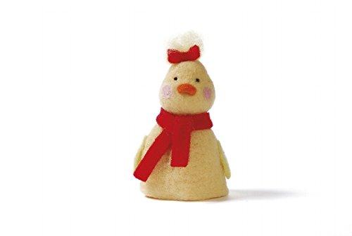 eierwärmer Animales Diseño de Pato [Amarillo] para cocidos 10cm