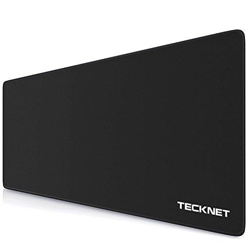 Alfombrilla de ratón TeckNet L Gaming fabricada con seda : El mouse pad TeckNet G103 representa la próxima generación de superficies de mouse de precisión creadas para jugadores profesionales reales. La superficie sedosa proporciona la fricción ideal...