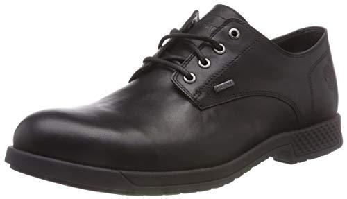 Timberland City S Edge, Zapatos de Cordones Oxford para Hombre, Negro (Jet Black Mincio 15), 45 EU