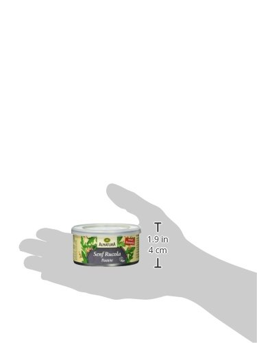 Alnatura Bio Pastete Senf-Rucola, vegan, 6er Pack (6 x 125 g) - 6