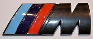 Logo Bmw Noir Motorsport M adhésif 3M