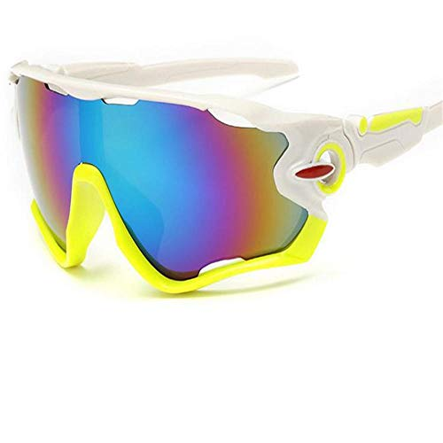ANSKT Sportsonnenbrille Herren und Damen Polarized UV Protection 400 Lightweight Cycl