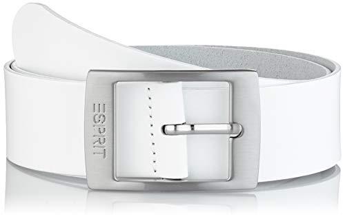 Esprit Accessoires Damen 999EA1S807 Gürtel,, per pack Weiß (WHITE 100), 95|#95|#6651 (Herstellergröße: 95)