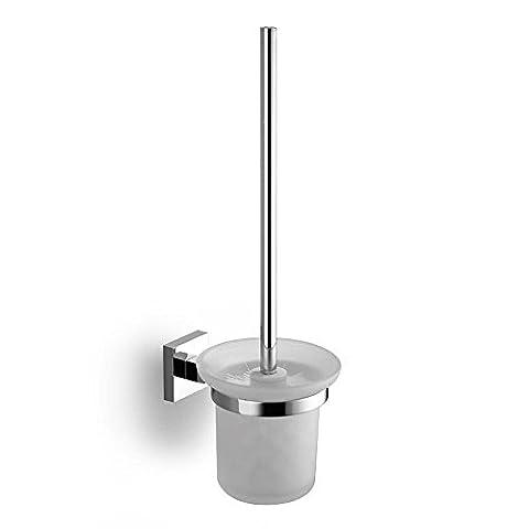 by-brass verchromt WC-Bürstenhalter, WC-Bürste, Bad Wand zum aufhängen Metall Teile