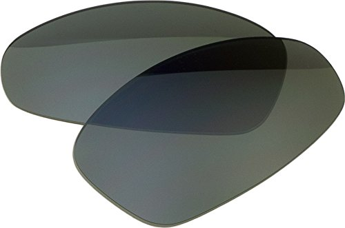 Zero Ersatz-Objektive für Oakley Juliet Sonnenbrille, Slate Mirror Polarized