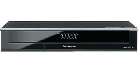Panasonic DMR-HST130EG9 Premium Set-Top-Box (Twin HD DVB-S Tuner, 500 GB Festplatte, 2x CI+ Slot, WLAN, Internet Apps, HbbTV, Miracast, USB 2.0) (Panasonic Dmr)