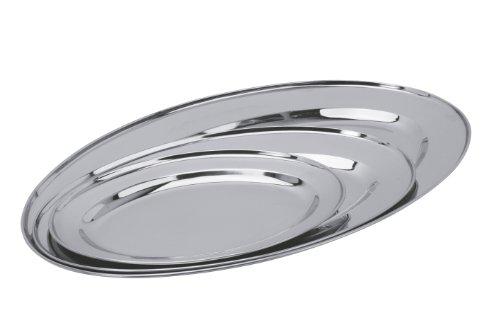 Equinox 500538 - Set de 3 bandejas de acero inoxidable