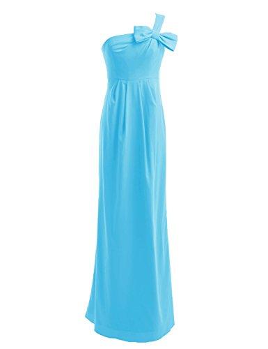 Dresstells, Robe de soirée Robe de demoiselle d'honneur Robe de cérémonie Bleu