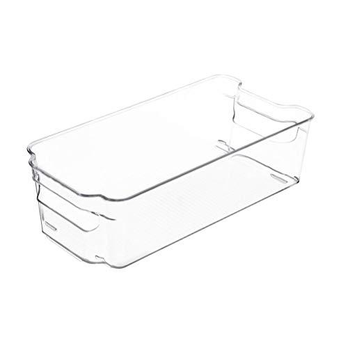 Toyvian Caja Almacenamiento Rectangular Transparente