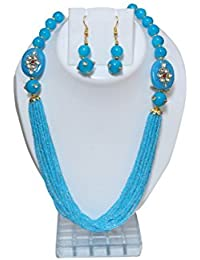 SHASHI GILETZY ETHNIC PEARL MULTILINE NECKLACE SET FOR WOMEN AND GIRLS