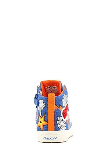 Geox Jr Kiwi C Jungen Sneaker Royal / Multicolor