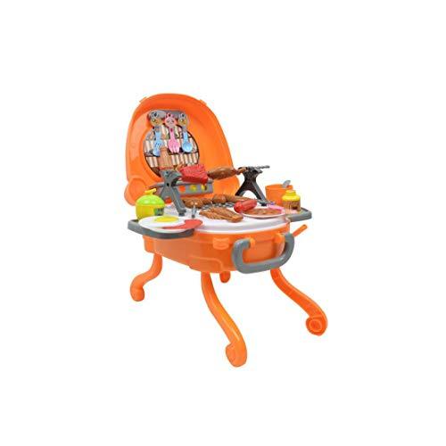 RENJUN Kinder BBQ Spieße Set Simulation Küche Klasse Haus Outdoor Grill Kinderspielzeug 27x28x35cm Lernspielzeug für Kinder (Q Ein B Labyrinth)