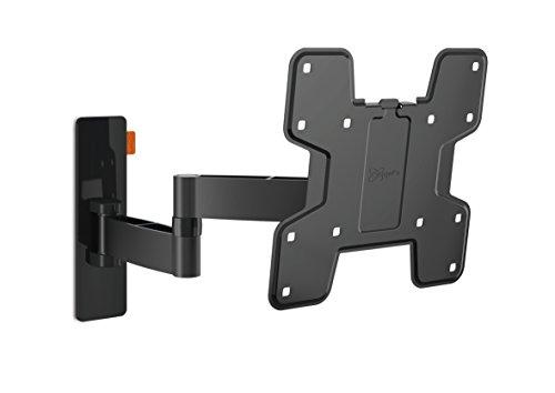 Vogel's WALL 2145 TV-Wandhalterung für 48-104 cm (19-40 Zoll) Fernseher, 180° schwenkbar und neigbar, max. 15 kg, Vesa max. 200 x 200 mm, schwarz
