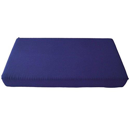 Preisvergleich Produktbild Nature Mark Bettlacken Boxspringbett Wasserbett Blau Jersey Spannbettlacken 180x220 Spannbetttuch 180x200 / 200x220 cm