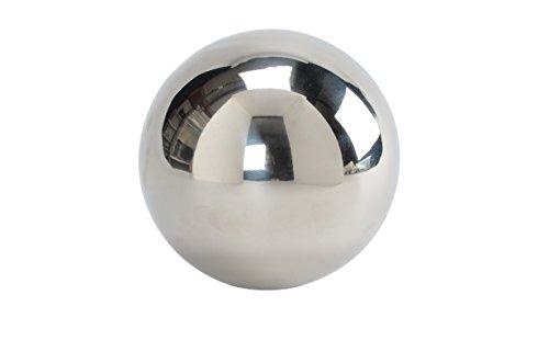 A BOULE décorative de acier inoxydable